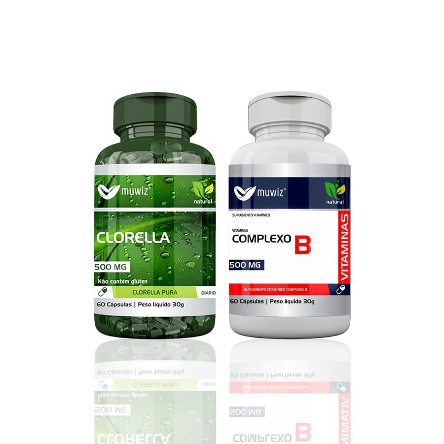 Clorella + Complexo B